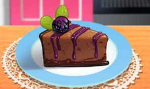 Sara's Cooking Class: Chocolate Blackberry Cheesecake